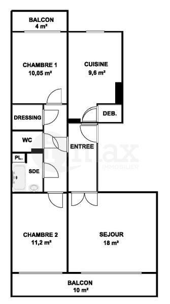 Sale apartment Courbevoie 470000€ - Picture 5