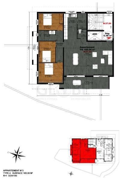 Deluxe sale apartment Biarritz 970000€ - Picture 4
