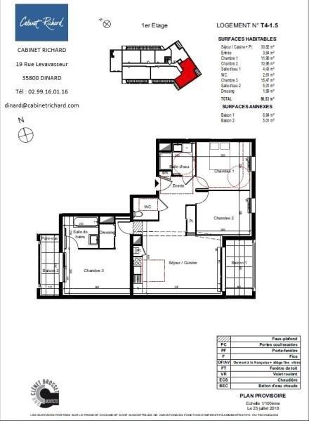 Sale apartment St malo 289000€ - Picture 1