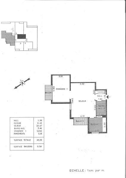 Location appartement Les pavillons sous bois 695€ CC - Photo 6