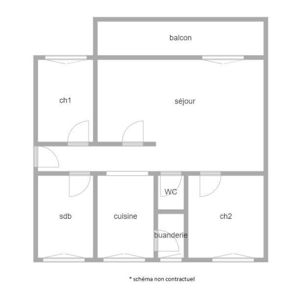 Vente appartement Bois colombes 420000€ - Photo 2