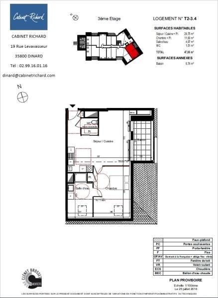出售 公寓 St malo 171500€ - 照片 1