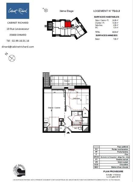Vendita appartamento St malo 156000€ - Fotografia 1