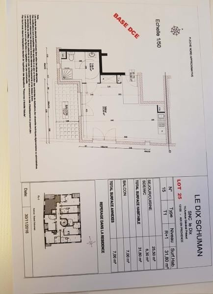 Rental apartment Aix en provence 690€ CC - Picture 4