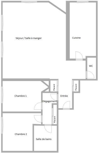 Vente appartement Suresnes 525000€ - Photo 2