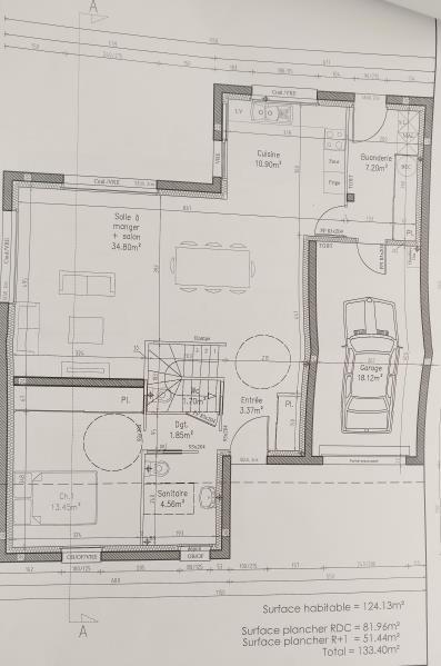 Vente maison / villa La chapelle heulin 279500€ - Photo 2