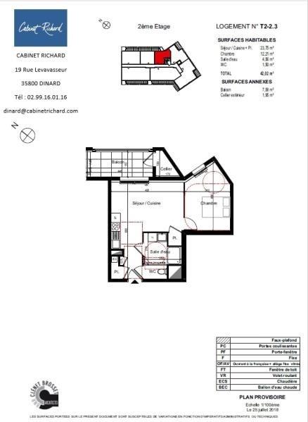Verkoop  appartement St malo 147000€ - Foto 1