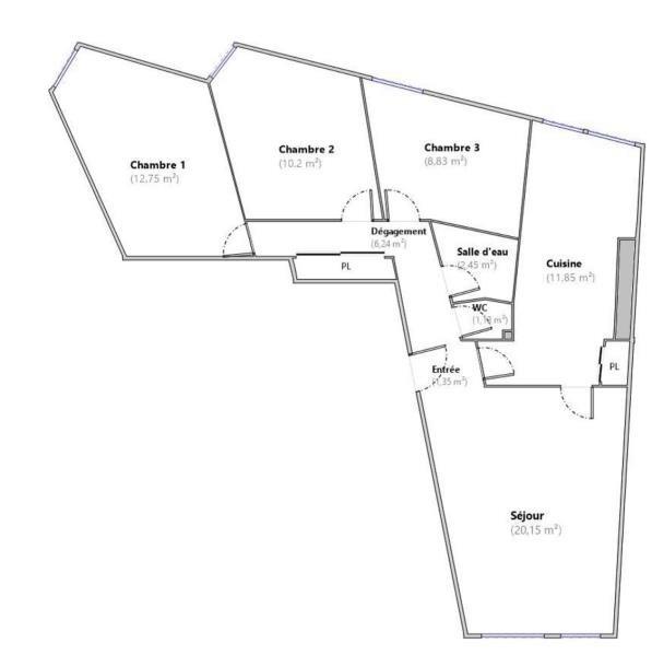 Vente appartement Vanves 447000€ - Photo 10