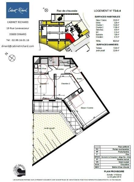 Verkoop  appartement St malo 212000€ - Foto 1