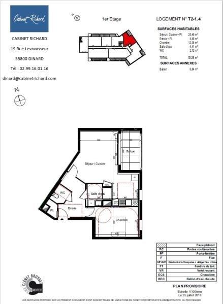 Vendita appartamento St malo 179000€ - Fotografia 1