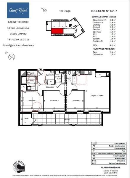 Revenda apartamento St malo 291000€ - Fotografia 1