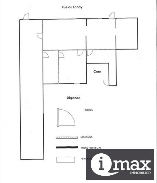 Rental empty room/storage Aubervilliers 1019€ HT/HC - Picture 1