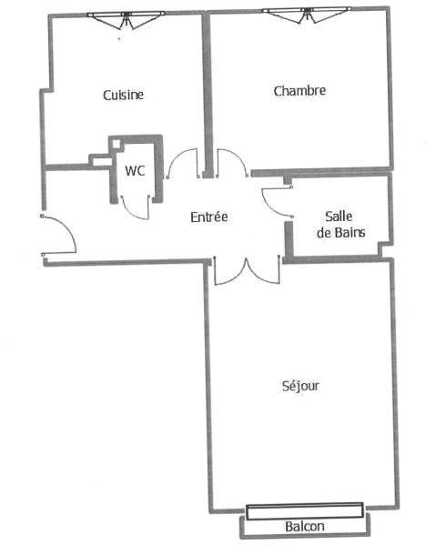 Alquiler  apartamento St denis 815€ CC - Fotografía 3