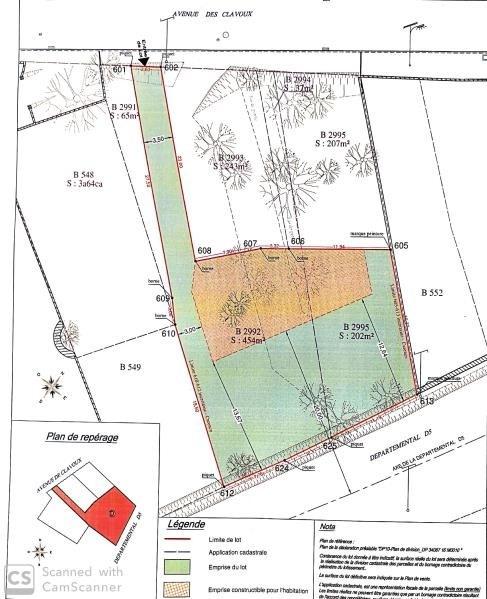 Verkoop  stukken grond Cournonsec 180000€ - Foto 3