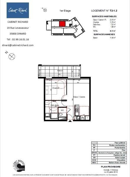 Vendita appartamento St malo 149000€ - Fotografia 1