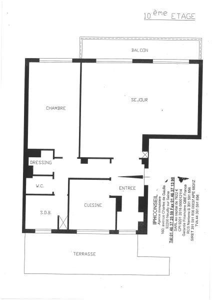 Vente appartement Paris 16ème 850000€ - Photo 7