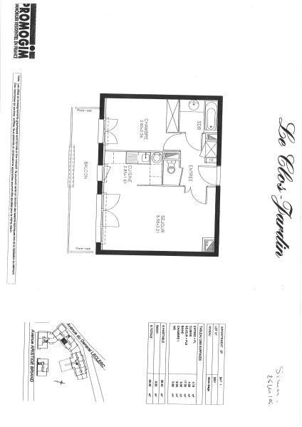 Location appartement Les pavillons sous bois 760€ CC - Photo 2