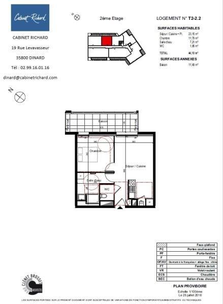 出售 公寓 St malo 153000€ - 照片 1