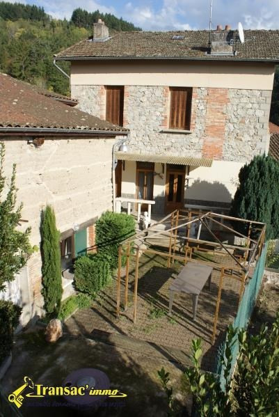 Sale house / villa Escoutoux 97 650€ - Picture 1