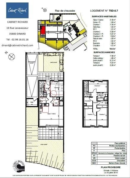 Sale apartment St malo 337000€ - Picture 1