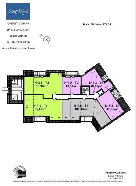 Vente appartement St malo 172000€ - Photo 2