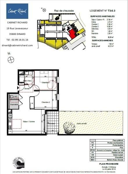Revenda apartamento St malo 207000€ - Fotografia 1