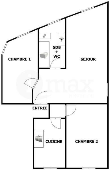 Sale apartment Asnieres sur seine 425000€ - Picture 5