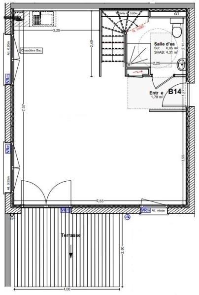 Venta  apartamento Vougy 250500€ - Fotografía 2