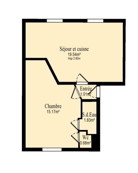 Vente appartement Vanves 299000€ - Photo 10