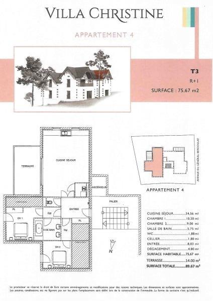 Vente appartement Arcachon 499000€ - Photo 2