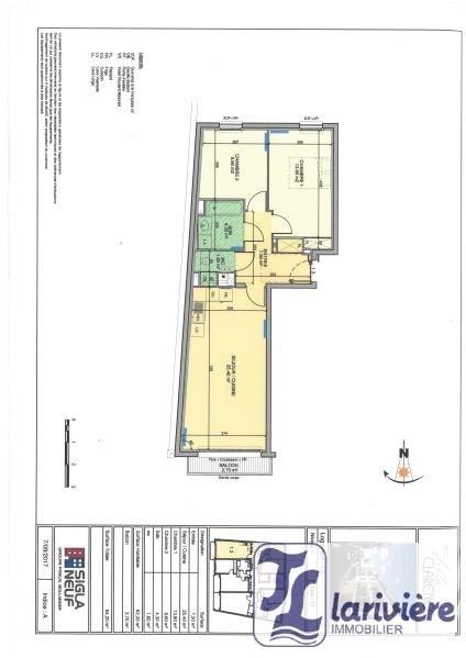 Sale apartment Wimereux 324000€ - Picture 3