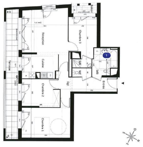 Revenda apartamento Bezons 299000€ - Fotografia 2