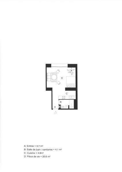 Venta de prestigio  apartamento Vannes 170000€ - Fotografía 3