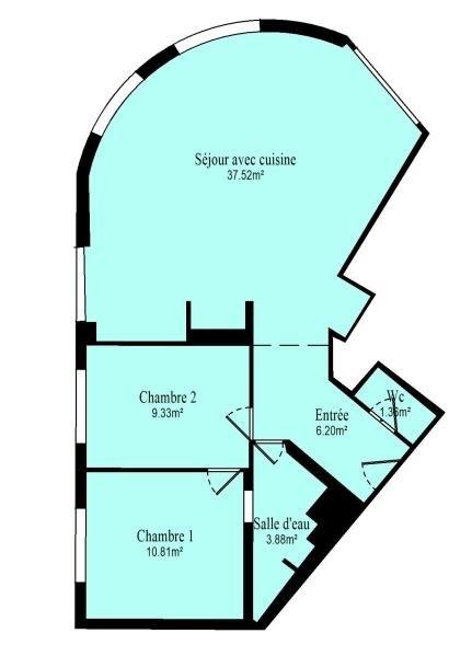 Vente appartement Vanves 483000€ - Photo 10