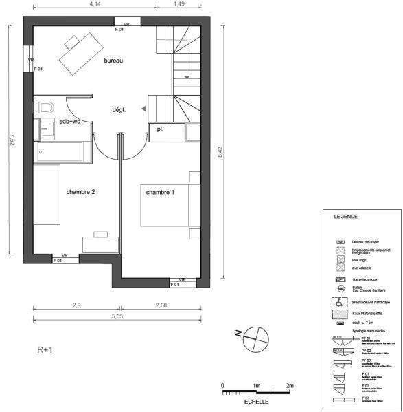 Venta  casa Marsillargues 249000€ - Fotografía 4