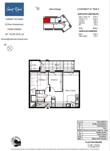Sale apartment St malo 198000€ - Picture 1