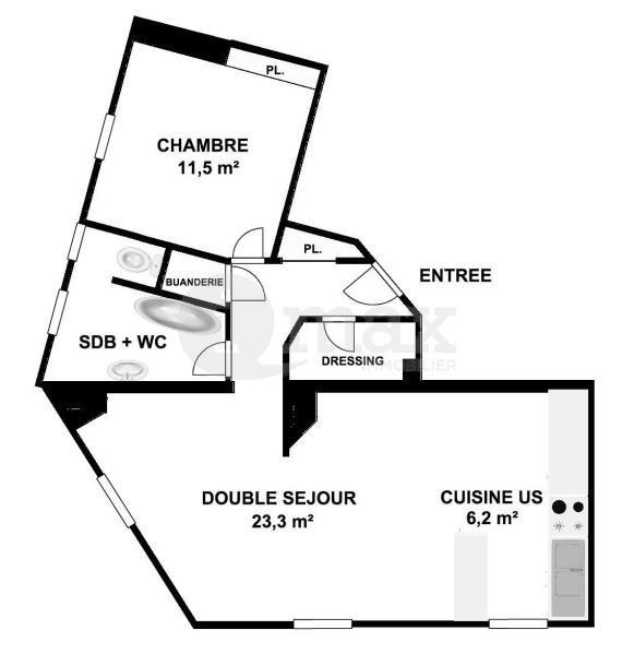 Vente appartement Courbevoie 425000€ - Photo 7