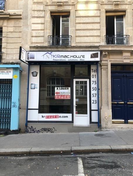 Rental shop Paris 18ème 1050€ HT/HC - Picture 1