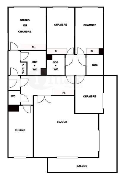 Vente de prestige appartement Levallois 1250000€ - Photo 8