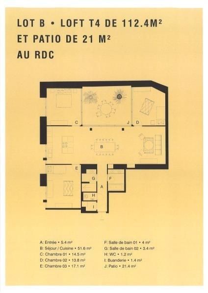 Vente de prestige appartement Vannes 615000€ - Photo 3