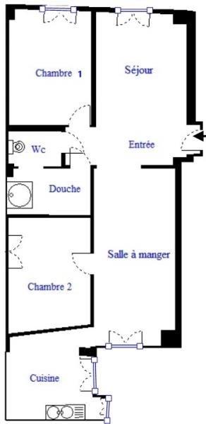 Sale apartment Paris 18ème 549000€ - Picture 3