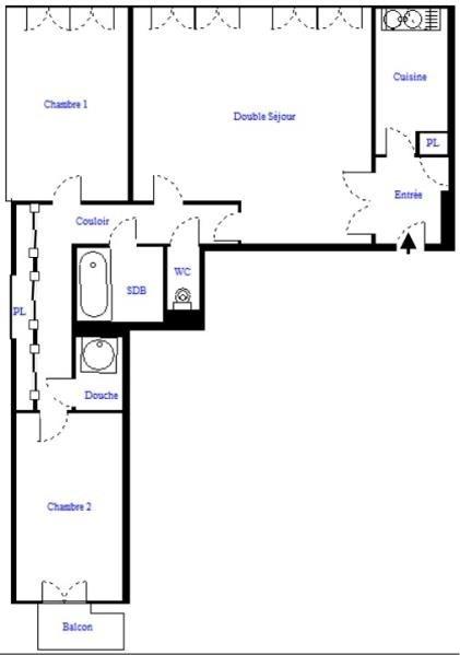出售 公寓 Paris 18ème 560000€ - 照片 9