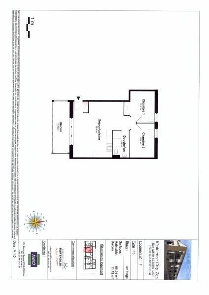 Sale apartment Eckwersheim 169000€ - Picture 4