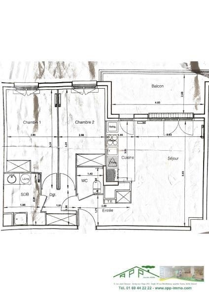 Location appartement Corbeil essonnes 850€ CC - Photo 2
