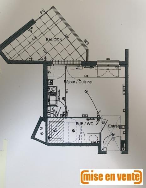Sale apartment Le perreux sur marne 215000€ - Picture 1