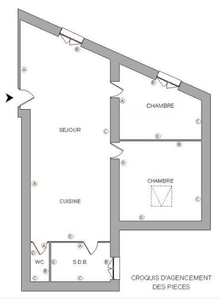 Location appartement Anse 476,92€ CC - Photo 6