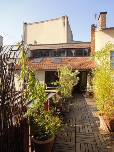 Vente de prestige appartement Paris 19ème 1180000€ - Photo 2