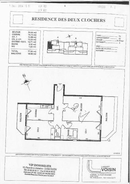 Location appartement Talant 850€ CC - Photo 5