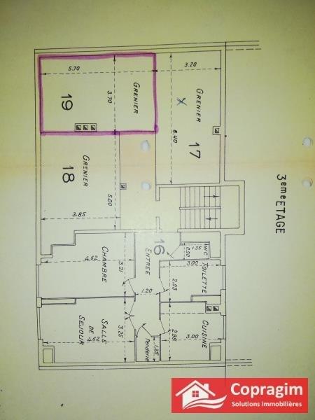 Sale apartment Montereau 74000€ - Picture 2