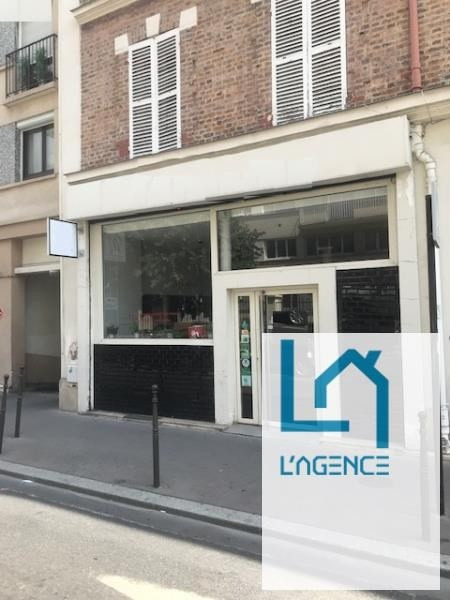 Commercial property sale shop Boulogne-billancourt 120 000€ - Picture 1